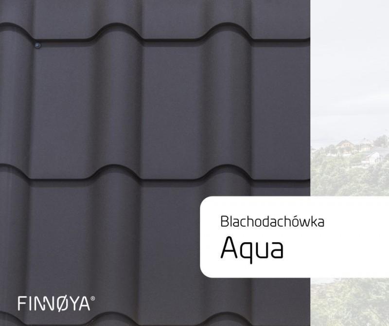 Blachodachówka Aqua