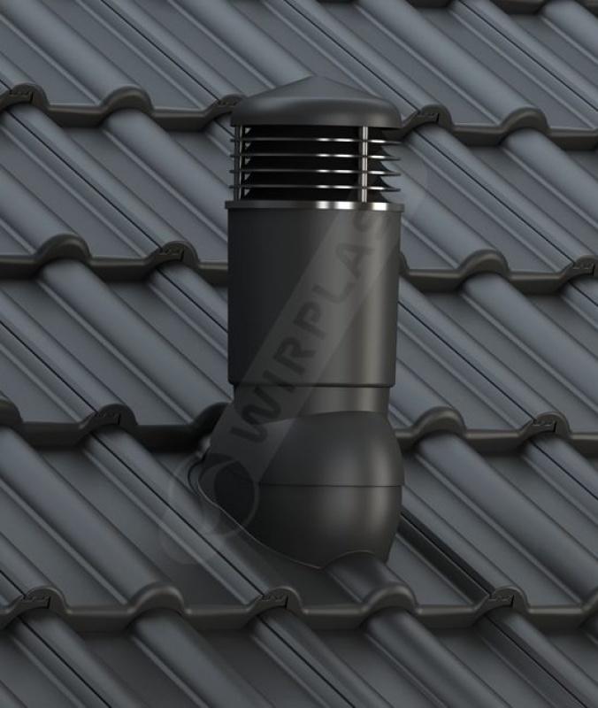 K98 dachówka betonowa czarna