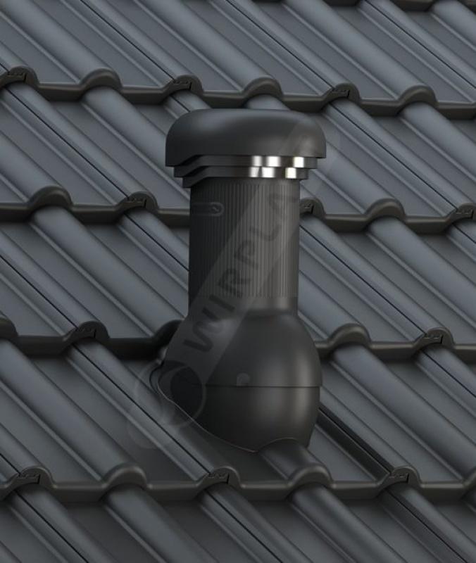 W18 dachówka betonowa czarna