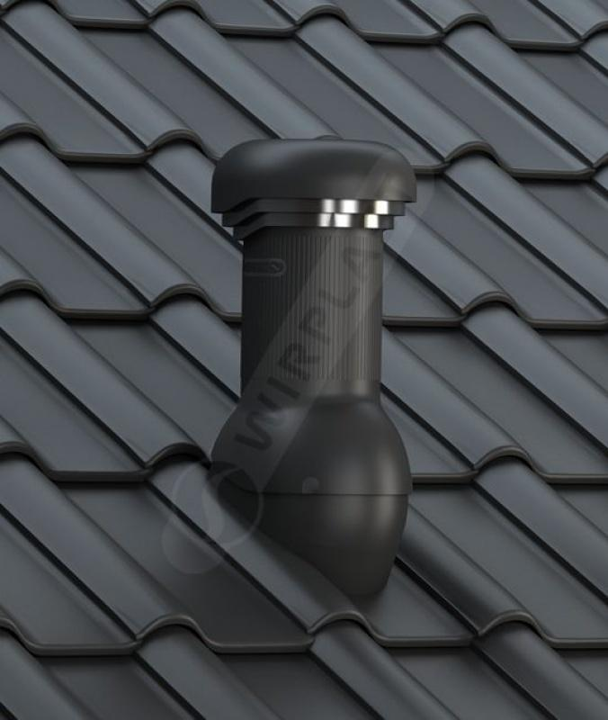 W19 dachówka betonowa czarna
