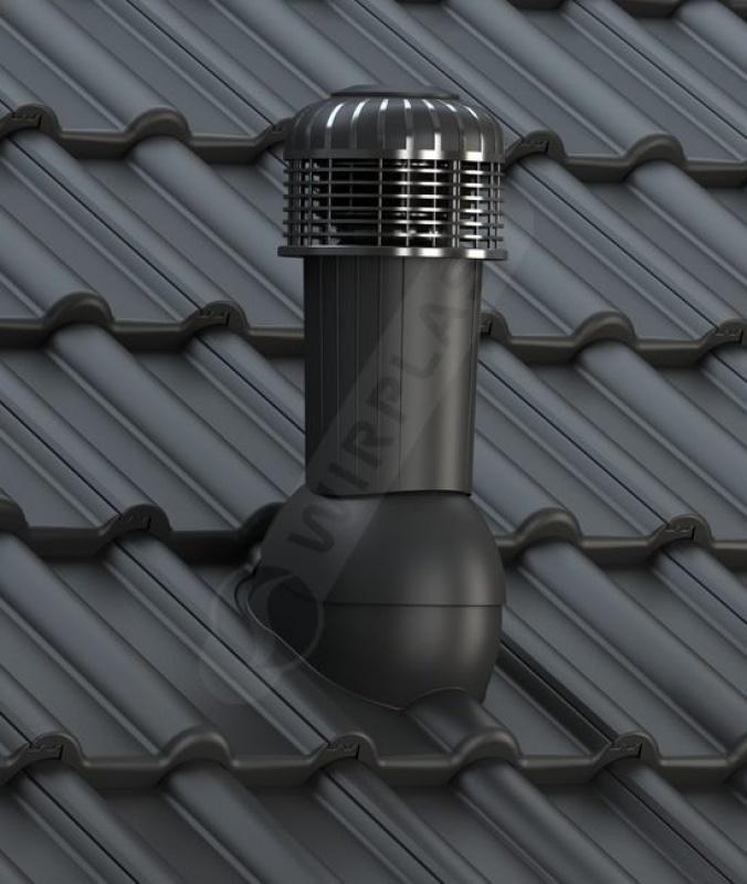 K99 dachówka betonowa czarna