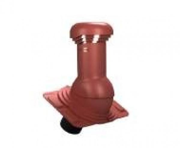 wentylator dachowy dn125 uniwersalny z odpływem kondensatu