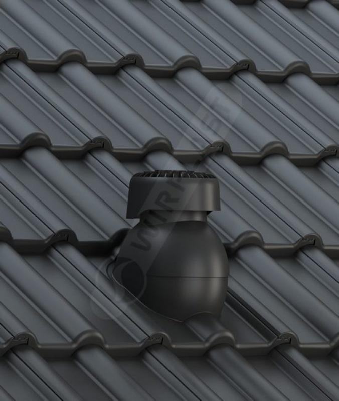 K85 dachówka betonowa czarna