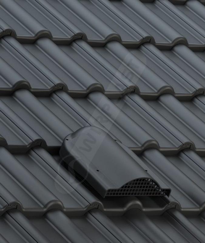P60 dachówka betonowa czarna